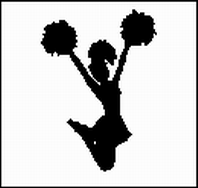 Piktogramm Cheerleading